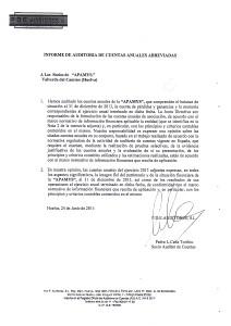 CERTIFICADO DE ÚLTIMA AUDITORÍA