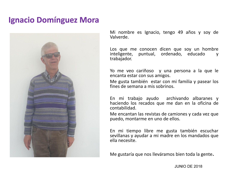 Ignacio Domínguez Mora